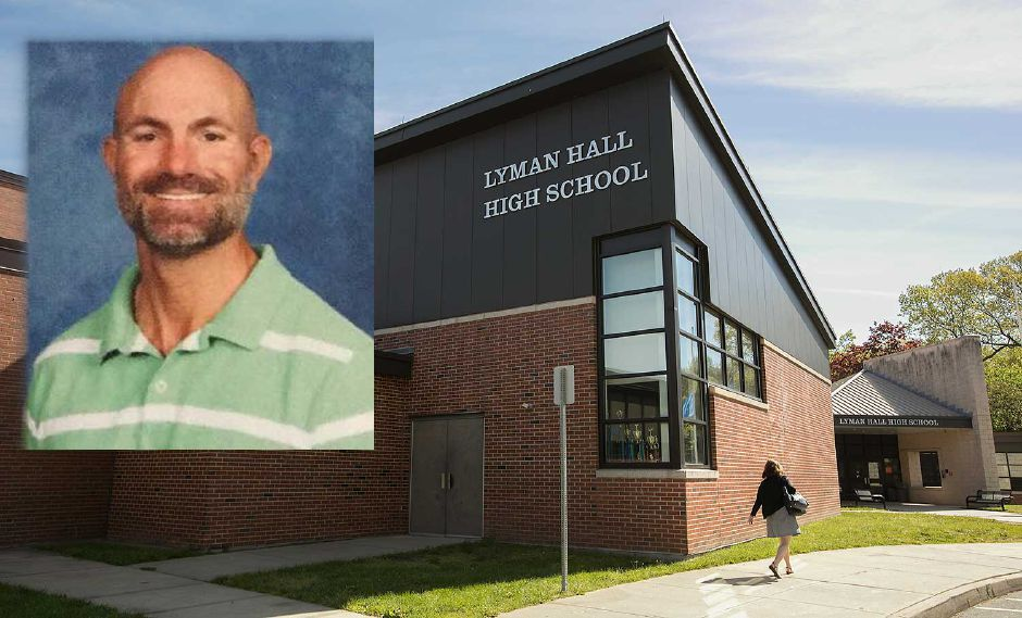 Former Lyman Hall teacher Jason Zettergren (pictured), resigned last year following an investigation into sexual harassment complaints made by students.
