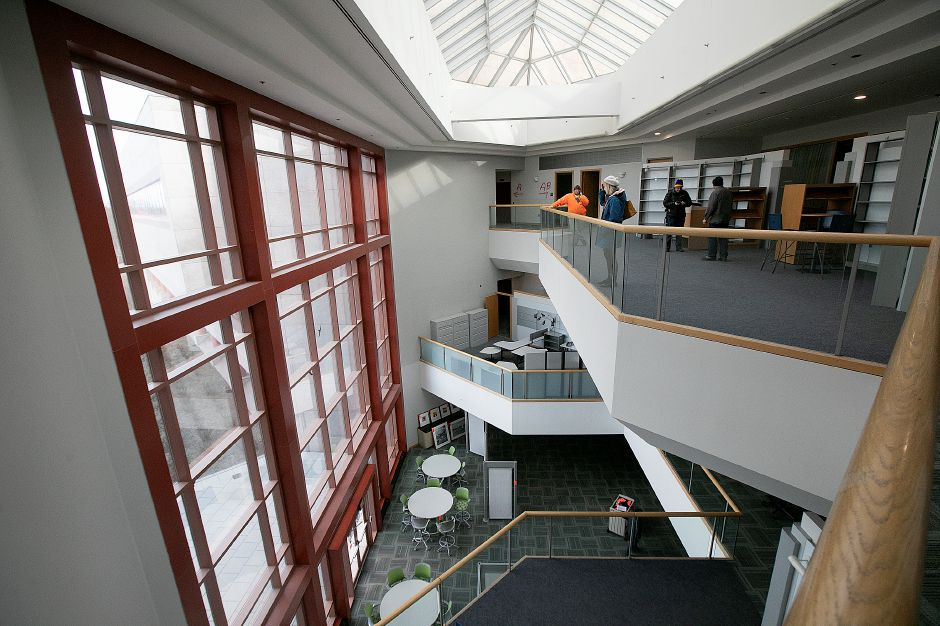 Interior view of the former Bristol-Myers Squibb in Wallingford, Fri., Jan. 25, 2019. Dave Zajac, Record-Journal