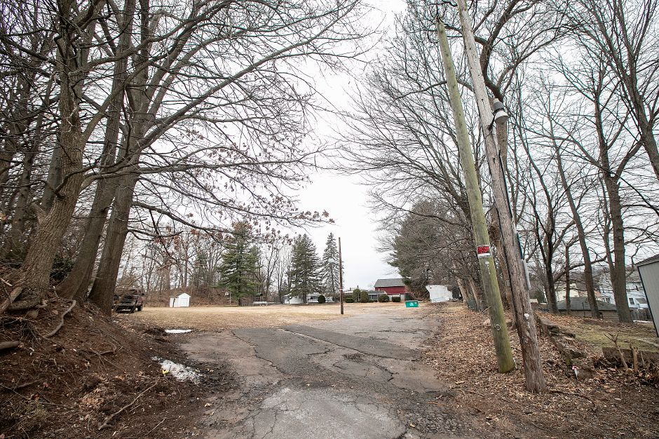 A parcel proposed for housing at 136 Liberty St., Southington, Tues., Feb. 4, 2020. Dave Zajac, Record-Journal