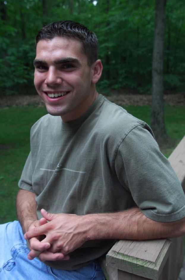 Vincent Balsamo is valedictorian from Sheehan High School, June 2000.
