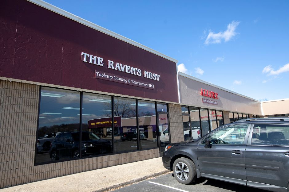 The Raven's Nest, a new business at 2211 Meriden-Waterbury Turnpike, Southington, Wed., Feb. 19, 2020. The shop is looking to be the area home for tabletop games such as Warhammer 40,000, Pokémon, X-Wing and Dungeons & Dragons. The Raven's Nest opens March 1. Dave Zajac, Record-Journal