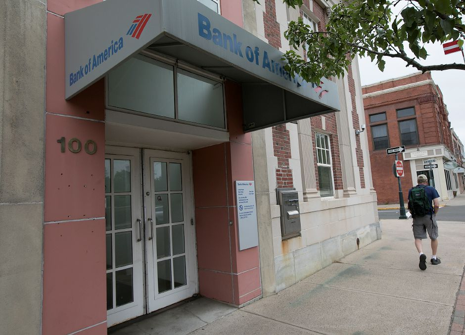 Bank of America branch in downtown Wallingford to close