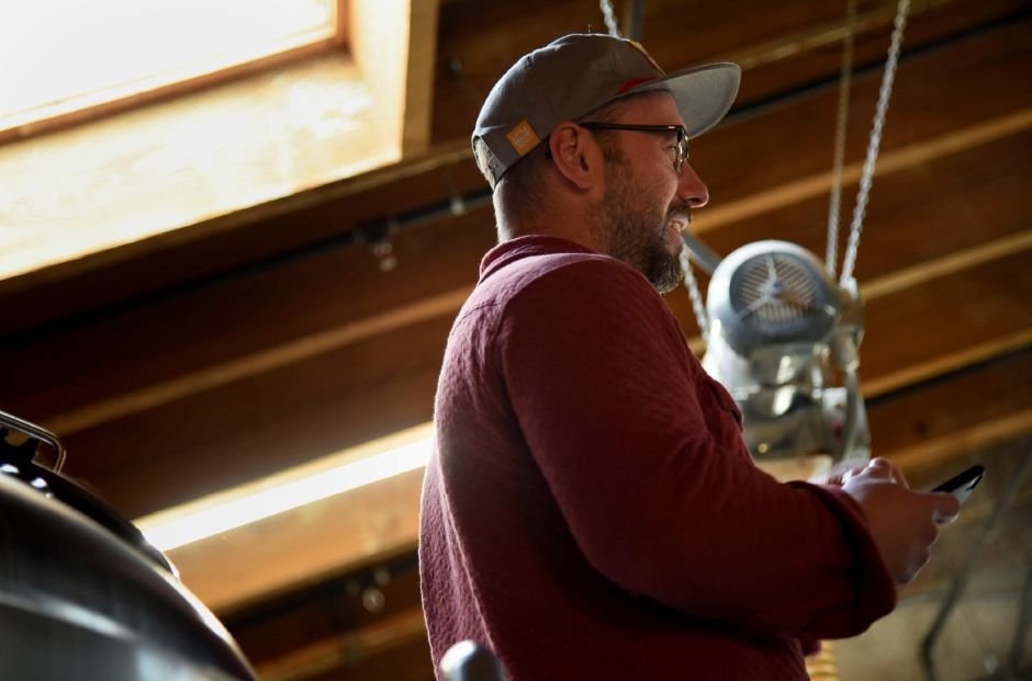 Bob Bartholomew, former Head Brewer and current Operations Manager, at Kinsmen Brewing Co. in Southington on Jan. 15, 2020. | Bailey Wright, Record-Journal