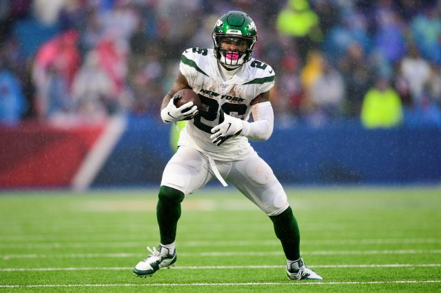 File-This Dec. 29, 2019, file photo shows New York Jets running back Le
