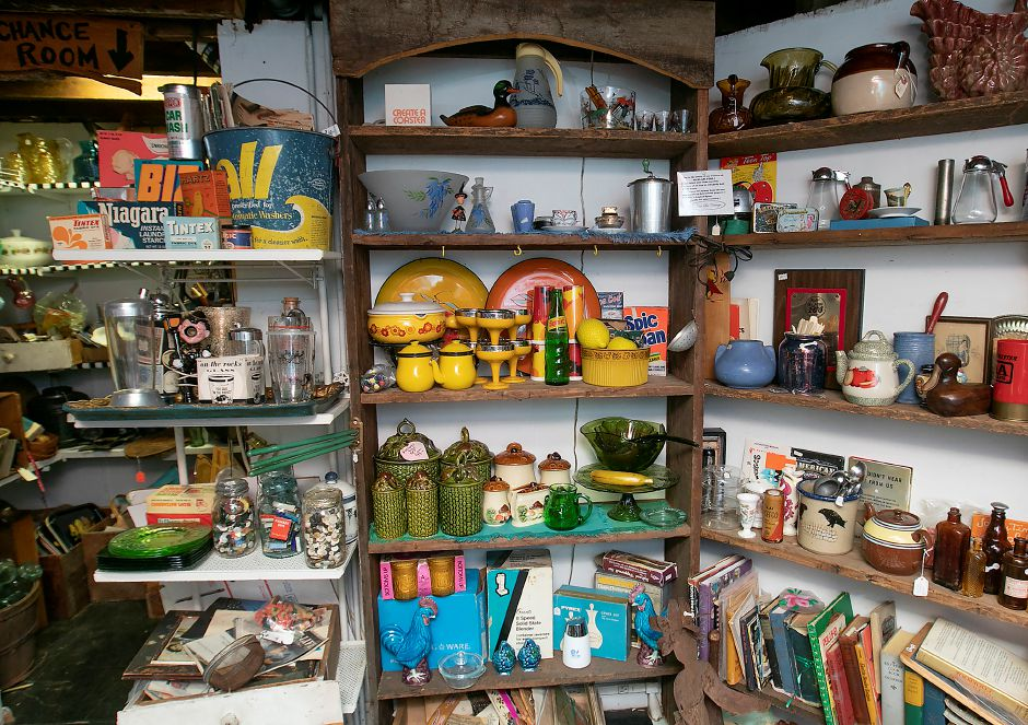 Vintage kitchen items for sale at La Vita Vintage, 774 S. Main St., Plantsville. Dave Zajac, Record-Journal