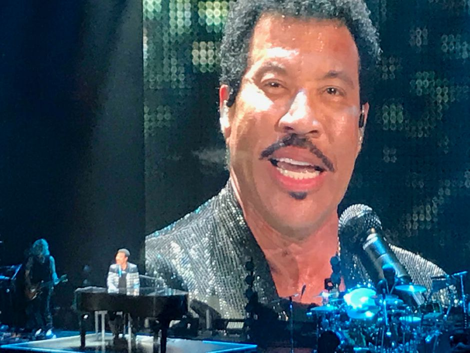 Lionel Richie performs at Mohegan Sun July 20, 2019. | Jim Pasinski, special to the Record-Journal