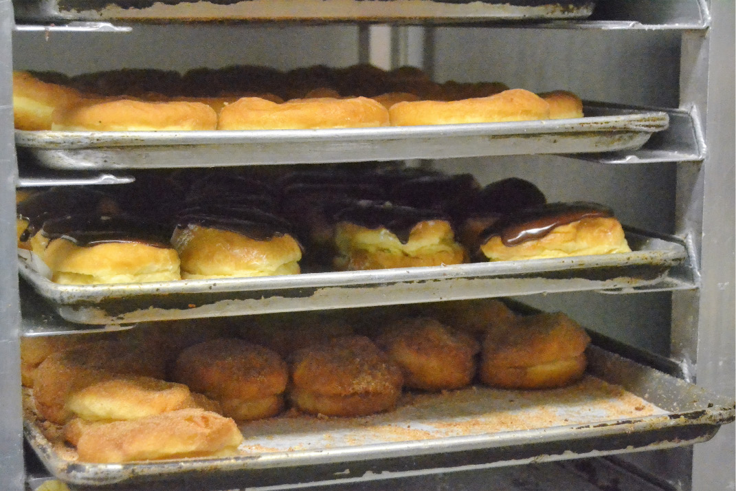 Neil's Donuts in Wallingford is stocked for National Doughnut Day. See video at Myrecordjournal.com.| Pete Paguaga, Record-Journal