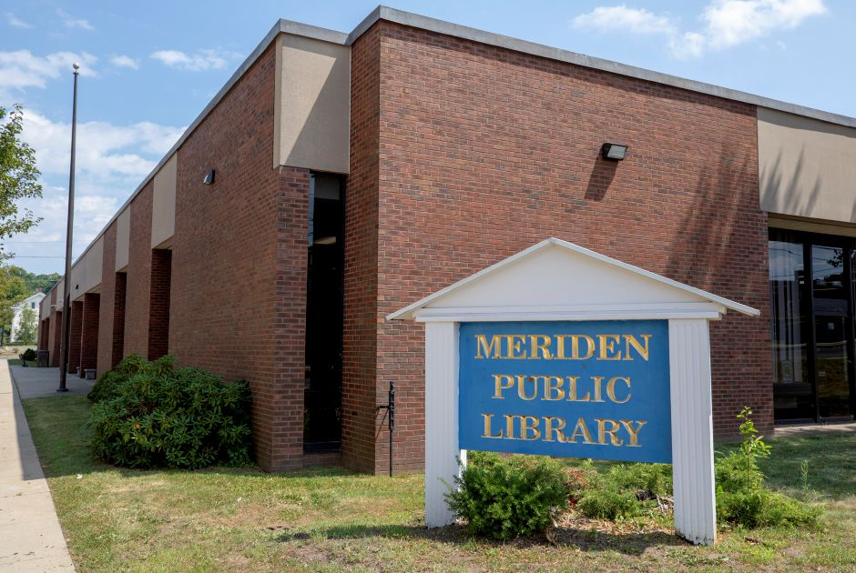 The Meriden Public Library, Wed., Jul. 22, 2020. Dave Zajac, Record-Journal