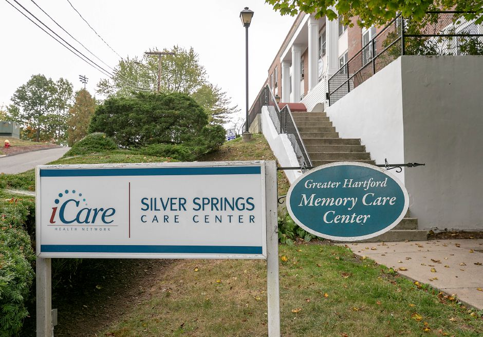 Silver Springs Care Center on Roy Street in Meriden, Tues., Sept. 29, 2020. Dave Zajac, Record-Journal