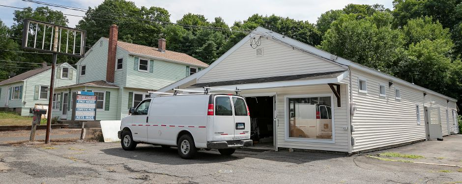 The former Civali's Hardware property, which spans 1387-1391 E. Main St. in Meriden, is being readied for two or three offices, according to an ownership partner, Fri., Aug. 28, 2020. Dave Zajac, Record-Journal