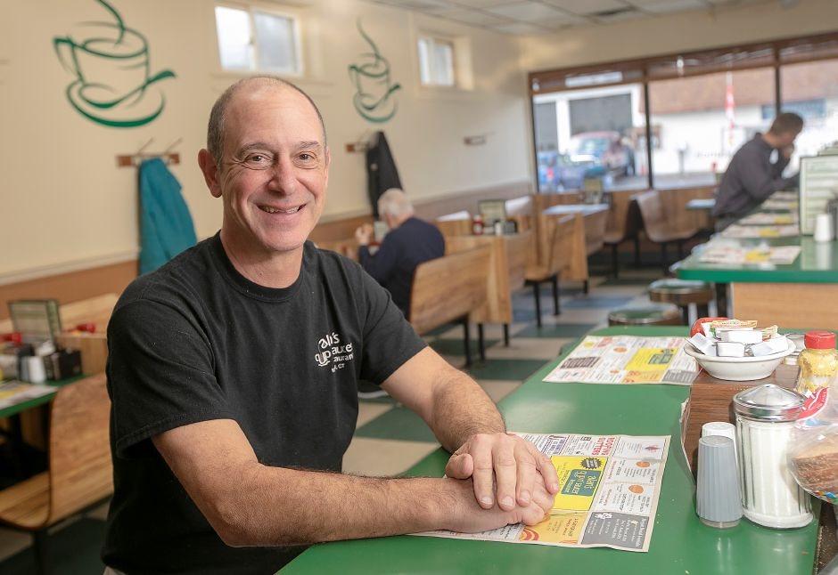 Alan Giacco, owner of Alan's Cup n' Saucer Restaurant, 443 Colony St., Meriden, Mon., Feb. 3, 2020. Giacco is looking to retire after 35 years in business. Dave Zajac, Record-Journal