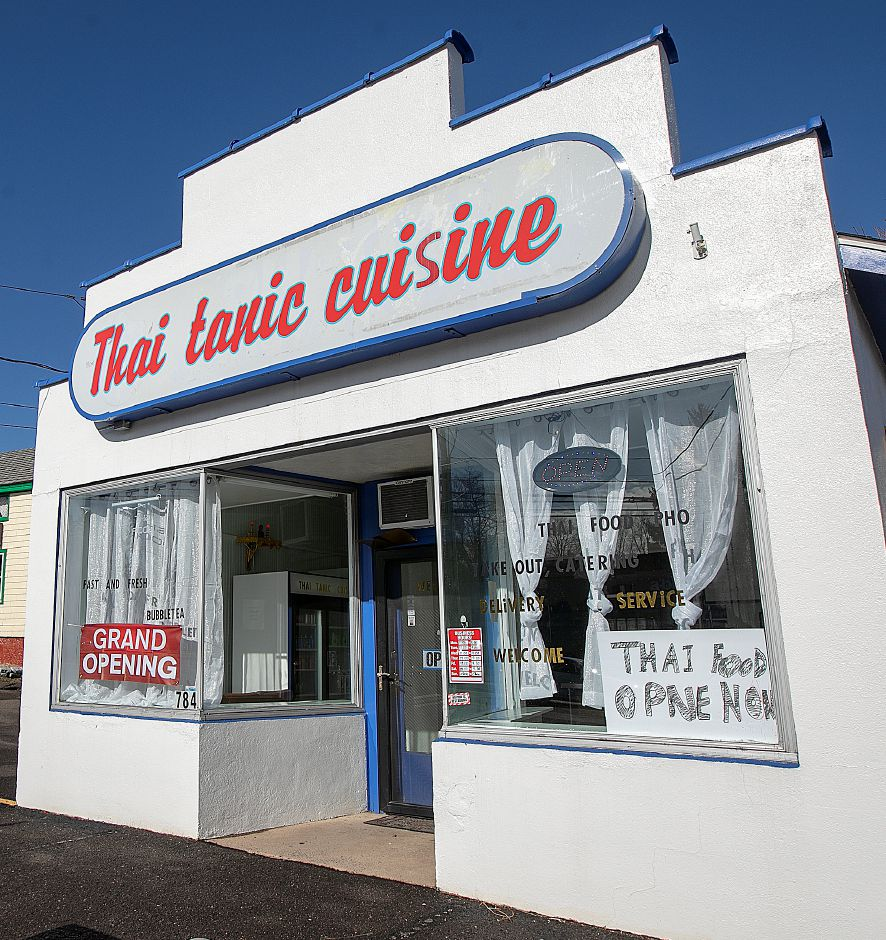 Thai-Tanic Cuisine, a new restaurant at 784 E. Main St. in Meriden, Fri. Feb. 8, 2019. Dave Zajac, Record-Journal