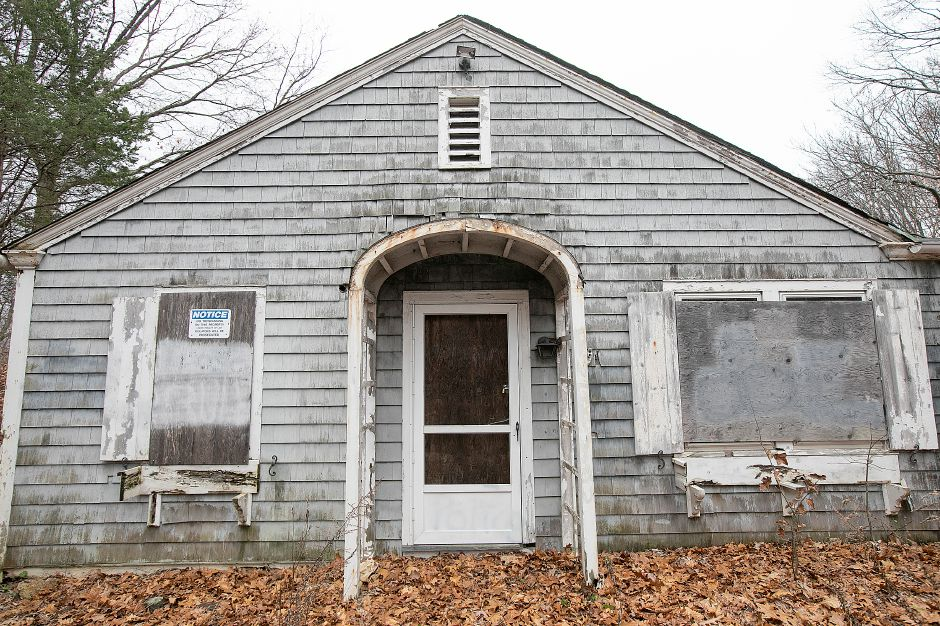 The former Choate boathouse at 320 Washington St. in Wallingford, Mon. Nov. 26, 2018. Dave Zajac, Record-Journal