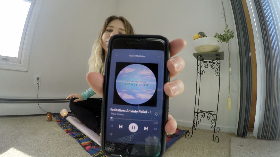 Kristen Dearborn shows guided meditations available on Spotify. Kristen Dearborn, special to the Record-Journal.