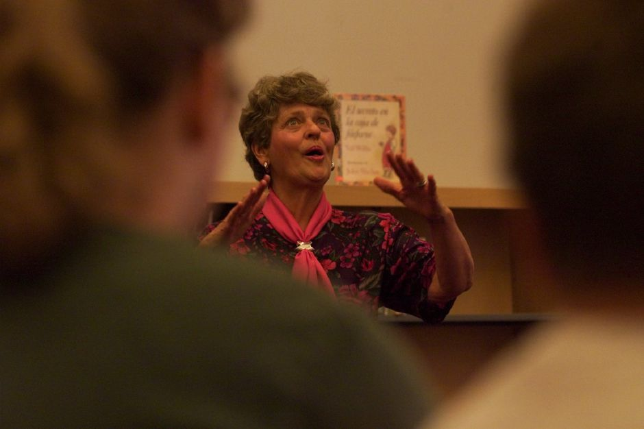Professional storyteller Joyce Marie Rayno comes alive as she tells Uncle Remus