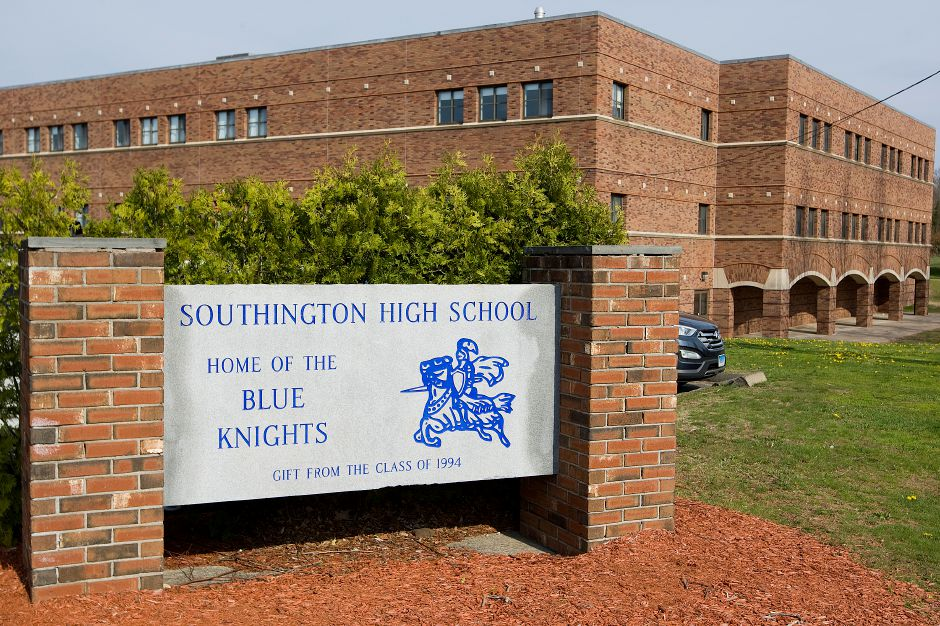 Southington High School will be closed for at least another day after a positive COVID-19 test. | File photo