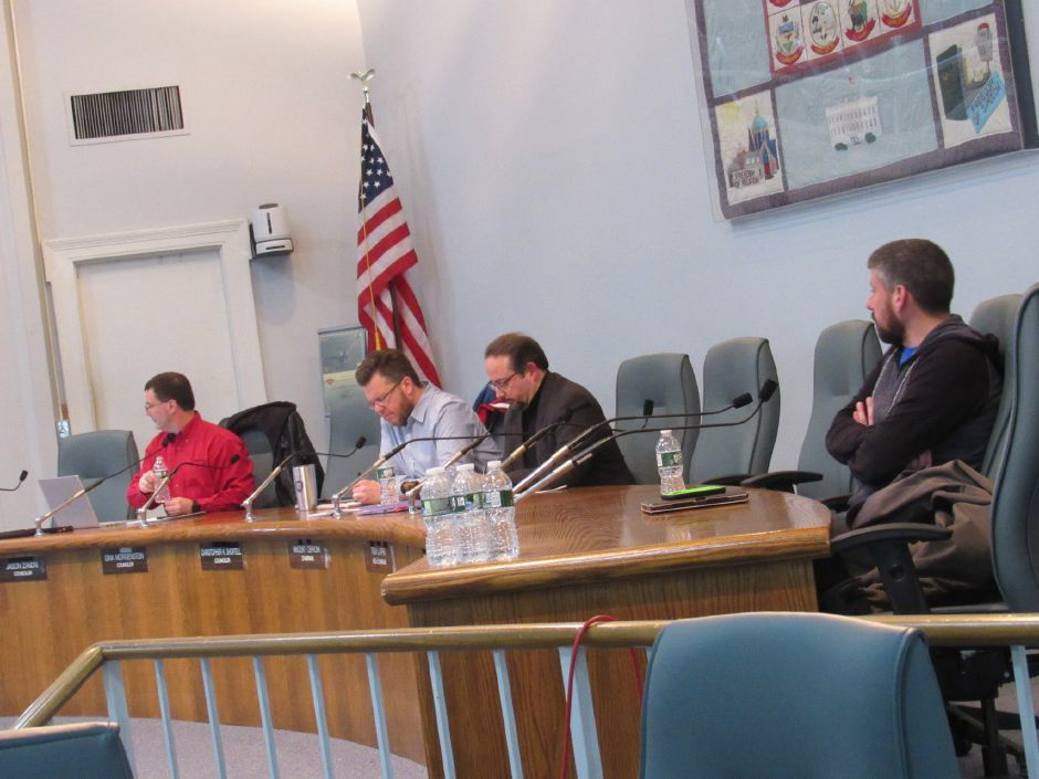 Four members of the Wallingford Town Council attended Tuesday