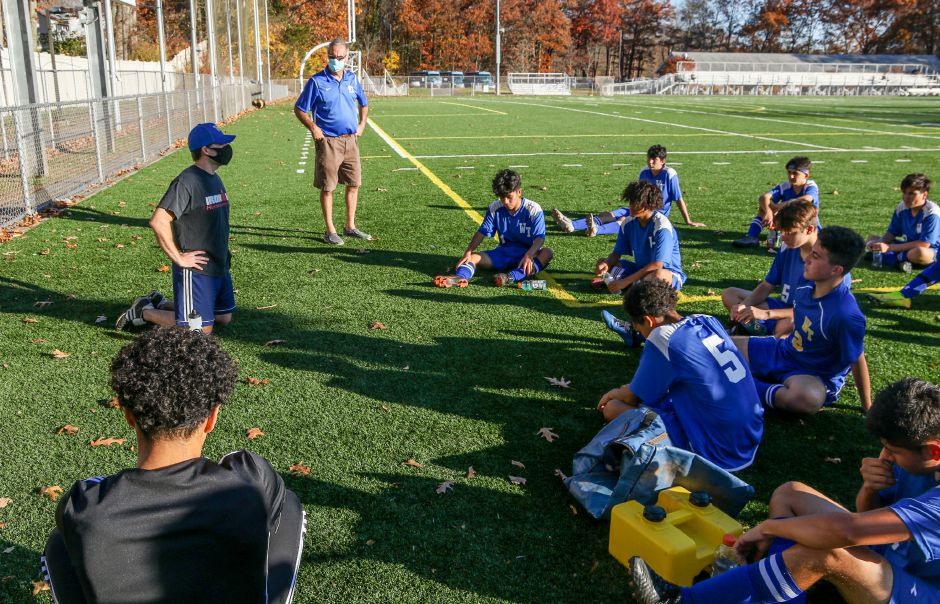 Clint Tebbetts had no high school coaching experience before becoming head coach of the Wilcox Tech boys soccer team. All of his previous coaching experience was in club programs. Aaron Flaum, Record-Journal