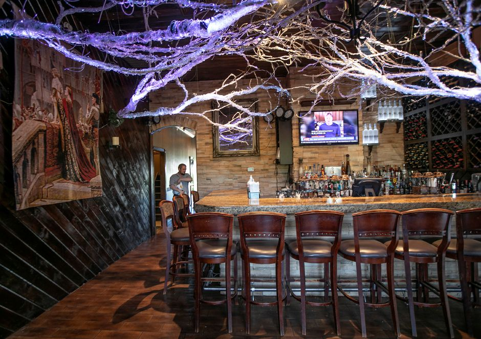 The bar area at Cava, 1615 West St. in Southington, Mon., Jun. 8, 2020. Dave Zajac, Record-Journal