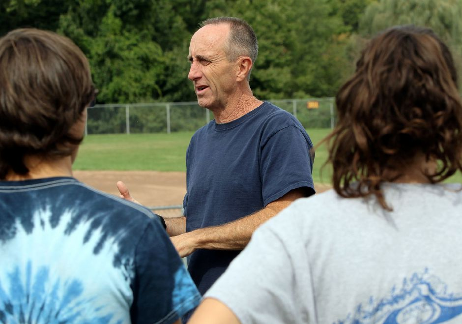 Frank Mohr heads into his second season as head coach of Sheehan cross country.Photos by Aaron Flaum, Record-Journal