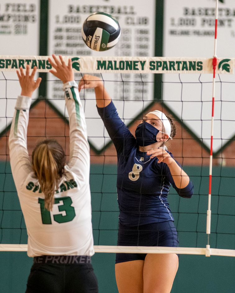 Ashlee Long had eight kills and eight digs for Platt in Monday's 3-1 win in Meriden over Berlin. The Panthers (8-1) host rival Maloney (9-0) on Thursday. Aaron Flaum, ,Record-Journal