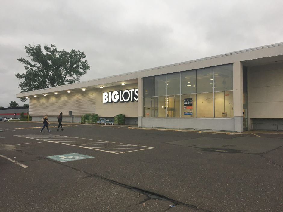 June 2017: Big Lots now occupies the former Finast grocery store. | Lauren Takores, Record-Journal