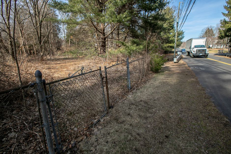 A gated property at 1205 Marion Ave. in Southington, Mon., Feb. 24, 2020. Dave Zajac, Record-Journal