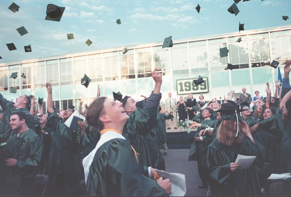 Hats off to the 1999 graduates of Maloney High School.