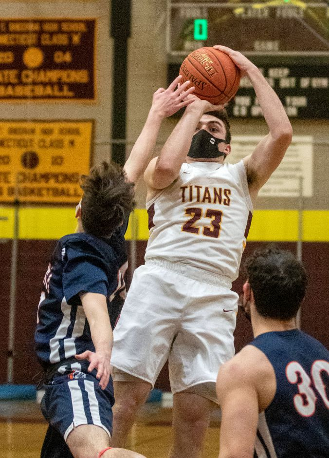 Four-year varsity player Jack McDonnell wrapped up his Sheehan career returning to the All-Record-Journal Team for a third time. He was the area's scoring leader at 21.23 points a game and he finished his career with 1,181. If there had been a full season this year, Sheehan coach Joe Gaetano reasoned, McDonnell likely would have become the school's top scorer of all time. Aaron Flaum, Record-Journal