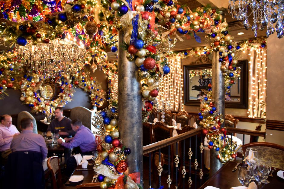 Diners in the Snow White-themed holiday room at Cava Restaurant, pictured on Monday, Nov. 25, at the 1615 West St. restaurant in Southington. | Bailey Wright, Record-Journal