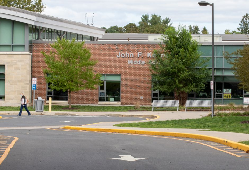 John F. Kennedy Middle School in Southington has a confirmed COVID-19 case according to school officials on Friday, September 11, 2020. Aaron Flaum, Record-Journal