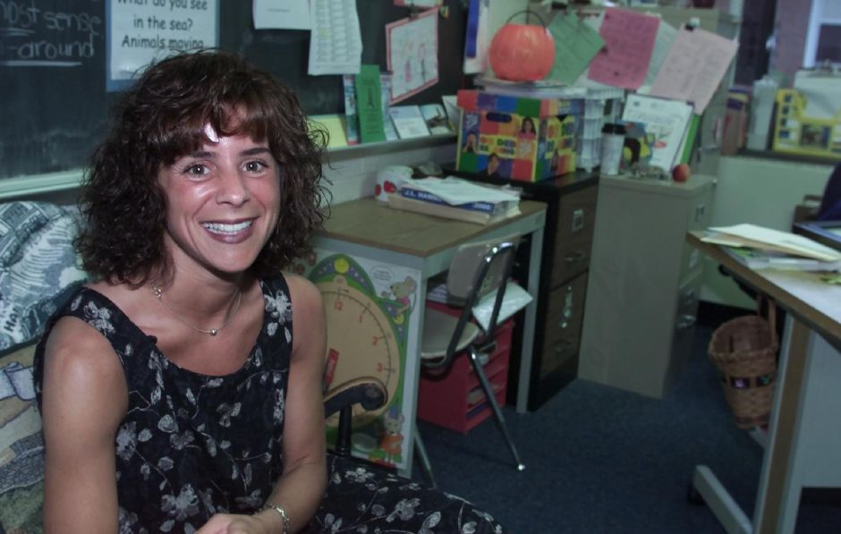 Parker Farms Elementary School 3rd grade teacher, Lori Farkash has been named the Sam Walton teacher of hte year for Wallingford, June 2000.