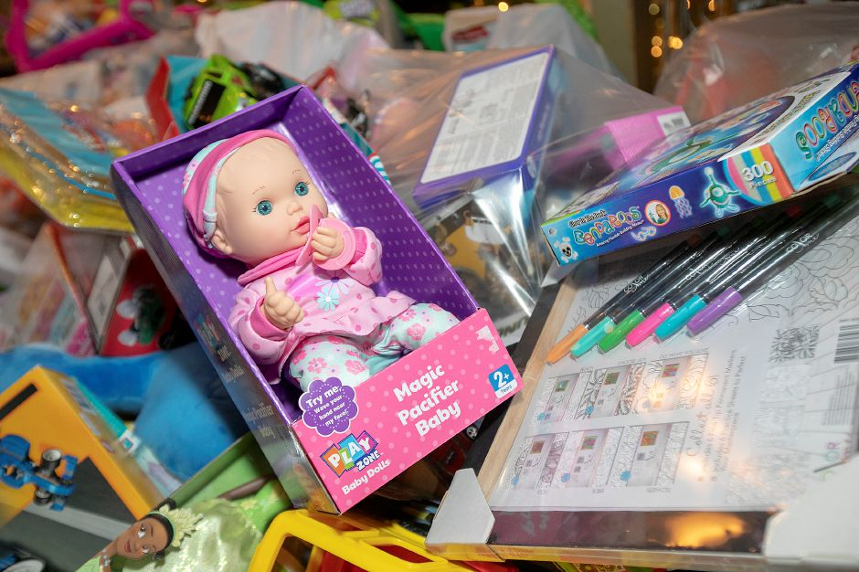 One of thousands of toys donated during the annual Toys for Tots donation event at Gaetano's Tavern on Main, 40 N. Main St. in Wallingford, Thurs., Dec. 13, 2018. Dave Zajac, Record-Journal