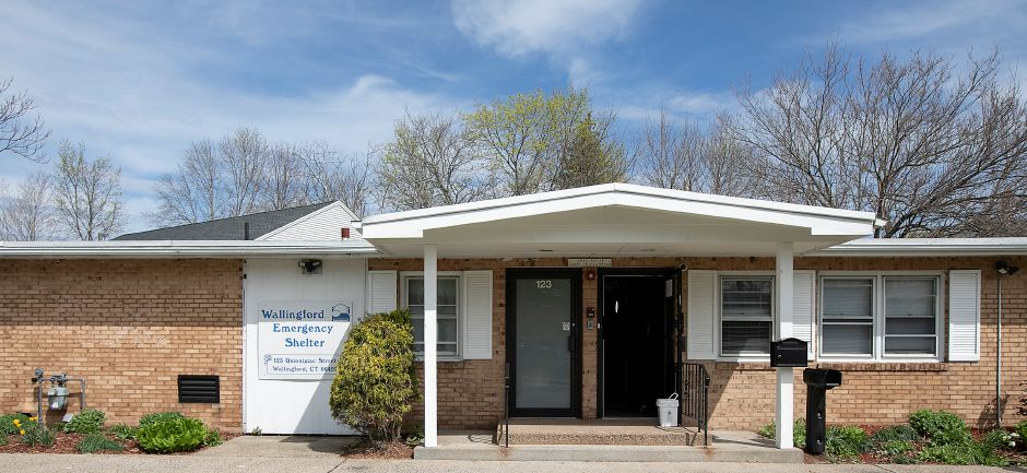 The Wallingford Emergency Shelter, Tues., Apr. 14, 2020. | Dave Zajac, Record-Journal