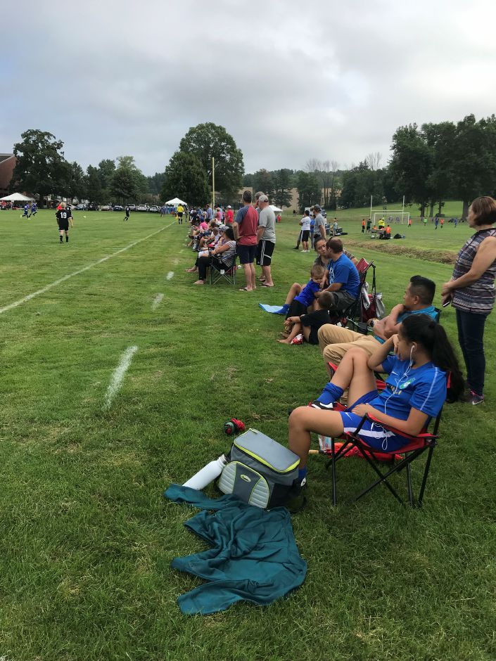 Close to 100 teams comprised of about 1,700 players descended on soccer fields  throughout town to compete in the Wallingford Invitational Soccer Tournament or TWIST this weekend. This year there are teams from Rhode Island and New York playing. | Steven Scarpa, for the Record-Journal.