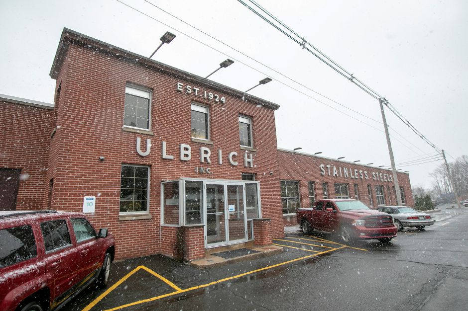 Ulbrich Steel & Specialty Metals, 1 Dudley Ave., Wallingford,  continues to operate wordwide as an essential business. Many local businesses are on Gov. Ned Lamont's exempt list.Dave Zajac, Record-Journal