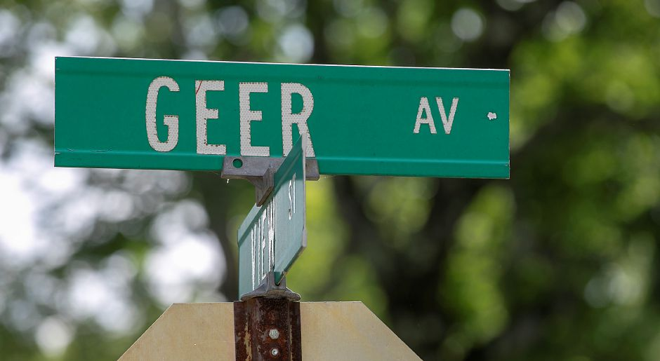 Geer Avenue in Meriden, Mon., Jul. 13, 2020. A 15-year-old girl was shot outside 19 Geer Ave. Sunday morning. Meriden police continue its probe of two separate Sunday morning shootings on East Main Street and Geer Avenue. Dave Zajac, Record-Journal