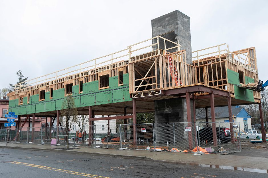 Construction continues on the Women & Families Center
