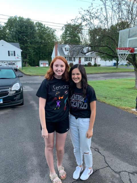 Berlin High School seniors Audrey Feldman and Jenna Smalley dedicated their April vacation to helping the less fortunate.
