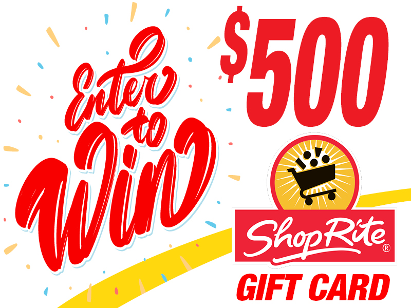 Enter to Win a $500 ShopRite Gift Card!