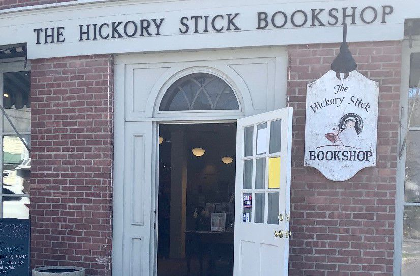 The Hickory Stick Bookshop (Washington Depot, CT), among the places in Connecticut to go inspired by the WB show Gilmore Girls. |Francesca Fontanez, special to the Record-Journal