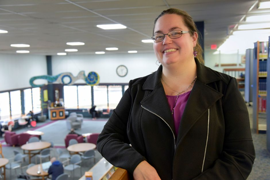 Library Executive Director Kristi Sadowski at the Southington Public Library, 255 Main St., on Monday, Dec. 30, 2019. The town is looking to build a new, larger library to accomodate growing needs. | Bailey Wright, Record-Journal