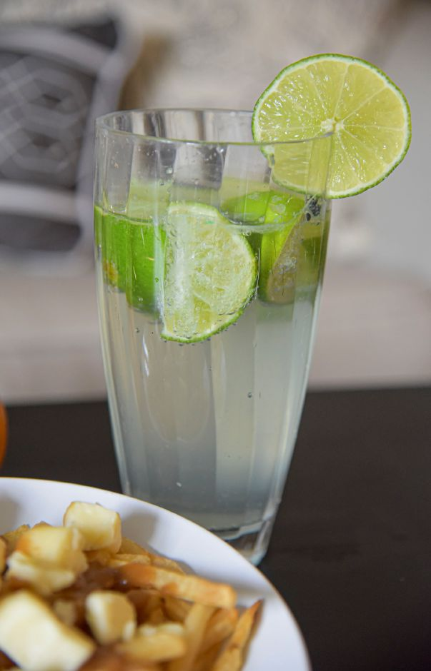 A homemade Lime Rickey, pictured Sept. 29, 2020. | Bailey Wright, Record-Journal