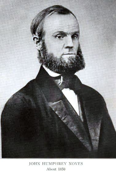 FILE: John Humphrey Noyes, founder of the Oneida Community that existed in Wallingford from 1851-1881. | Courtesy of Celeste Yanni