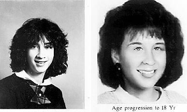 Doreen Jane Vincent went missing from her Wallingfordd home on June 15, 1988 when she was 12 years old. Photo on the right has been altered to show what she might look like at age 18. | Record-Journal archives