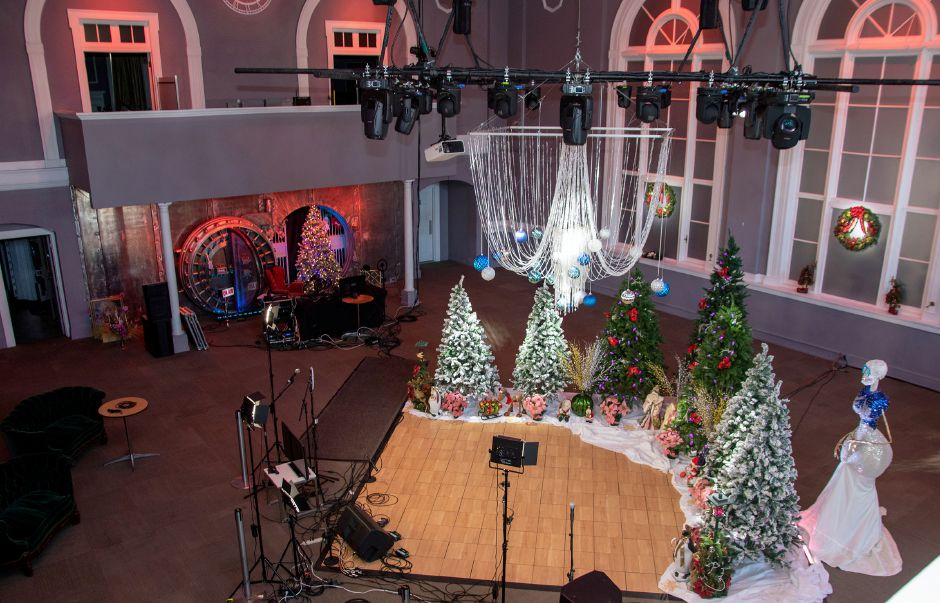 The Silver City Ballroom in downtown Meriden on Monday, Dec. 28, 2020. Aaron Flaum, Record-Journal.