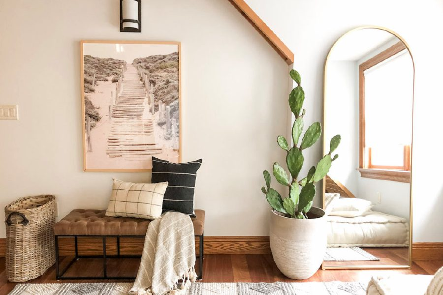 Different ways to create a relaxation room in your house with pillows and plants. | Amanda Piscitelli, special to Record-Journal