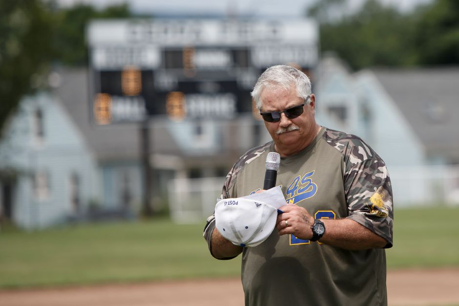 Doug Wedge and his Meriden Cobras saw their CT Elite Baseball Association season end with a 3-1 loss to Orange in the quarterfinals of the state tournament. The CTEBA filled in for the cancelled American Legion season. Wedge and the Cobras finished 15-7. Record-Journal file photo