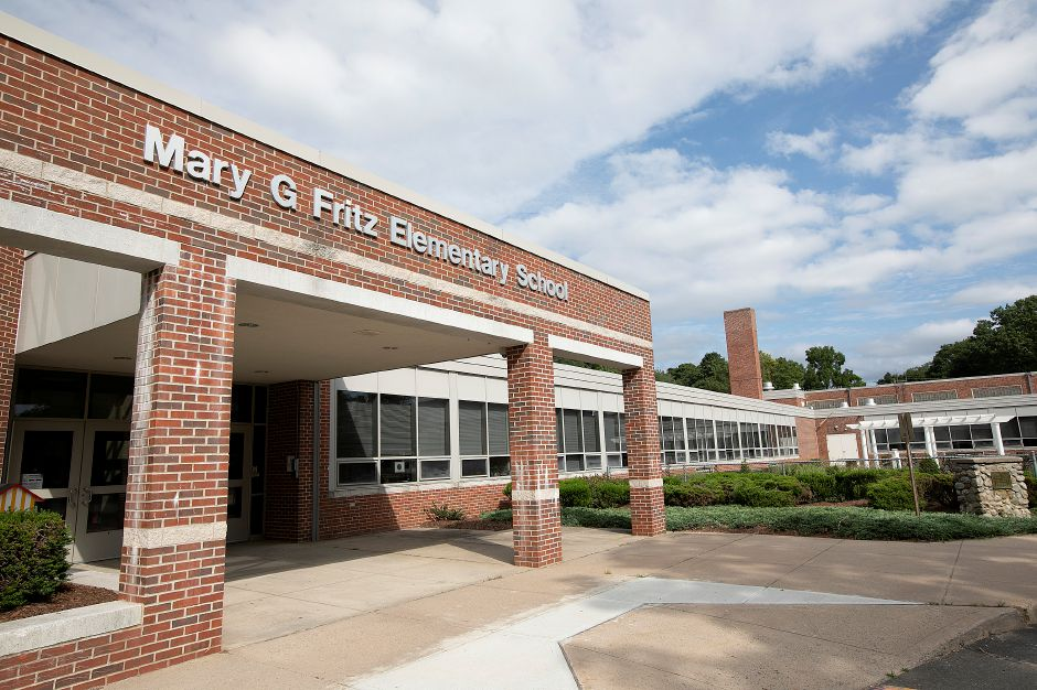 Mary G. Fritz Elementary School in Wallingford, Friday, August 31, 2018. Dave Zajac, Record-Journal