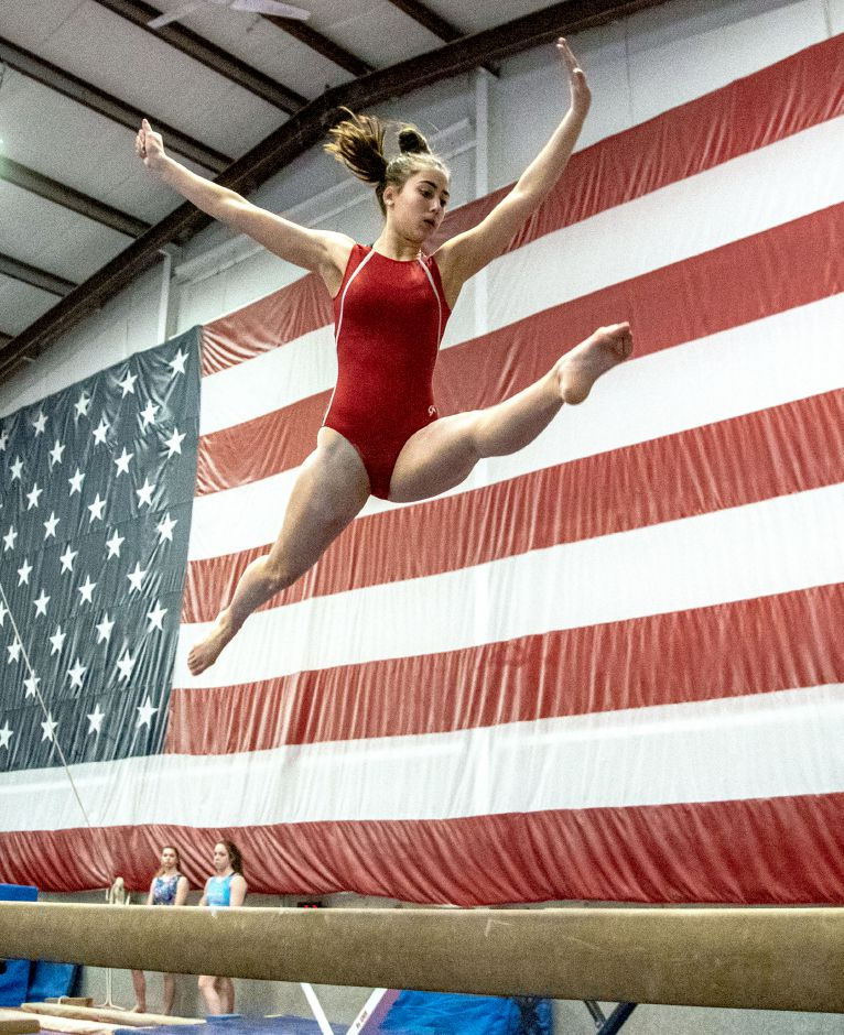 A four-year competitor and two-year captain with the Southington gymnastics team, Natalie Reeves is going on to major in marine biology and compete in acrobatics and tumbling at Hawaii Pacific University in Honolulu. Aaron Flaum, Record-Journal